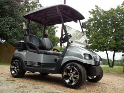 2011 Silver Metallic You Name It Edition Golf Cart