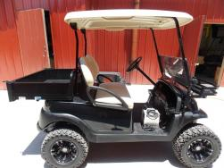 2011 Black Maintenance Edition Golf Cart