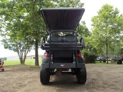 Pitch Black Edition Phantom Golf Cart