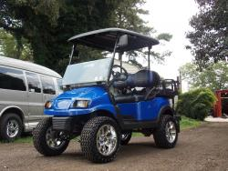 Royal Street Edition Golf Cart