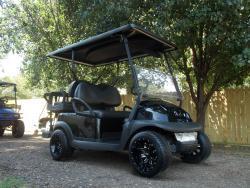 2011 Fat Boy Edition Club Car Precedent Electric 48v Golf Cart