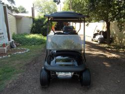 2011 Fat Boy Edition Club Car Precedent Electric 48v Golf Cart