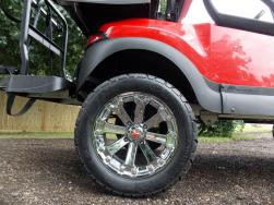 Rumble on Red Edition Golf Cart