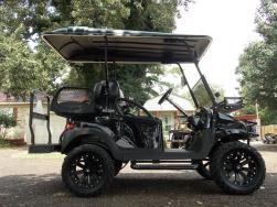 HardKore Texan Edition Phantom Club Car Precedent 48v Electric Golf Cart