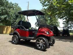 2011 Burgundy Metallic Phantom Golf Cart