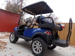Royal Metallic Phantom Street Golf Cart