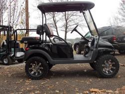 2012 Black & Orange Phantom Edition Golf Cart