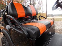 2012 Black & Orange Phantom Edition Golf Cart