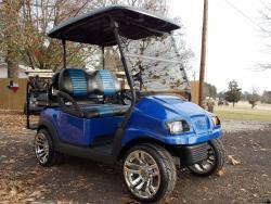 2011 Blue's Edition Phantom Club Car Precedent Electric 48v Golf Cart