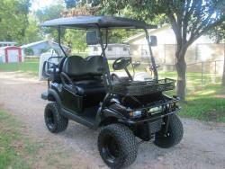 2011 All Black Golf Cart