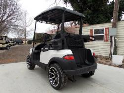 Pearl White Club Car Phantom Elite Golfer 48v Electric Golf Cart