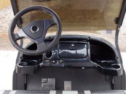 Pearl White Club Car Phantom Elite Golfer 48v Electric Golf Cart