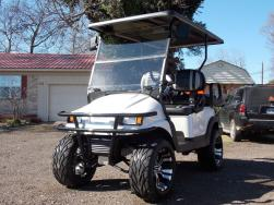 2011 Pearl Metallic Phantom Edition Club Car Precedent 48v Electric Golf Cart