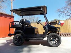 2011 Touch of Blue Edition Phantom Club Car Precedent 48v Electric Golf Cart