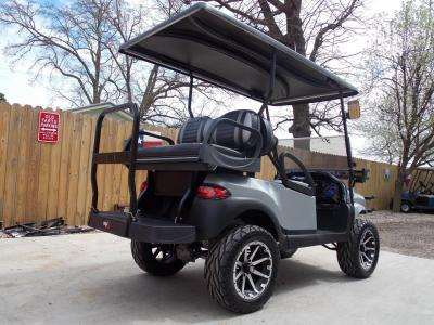 Silver Bullet Phantom Edition Club Car Precedent 48v Electric Golf Cart