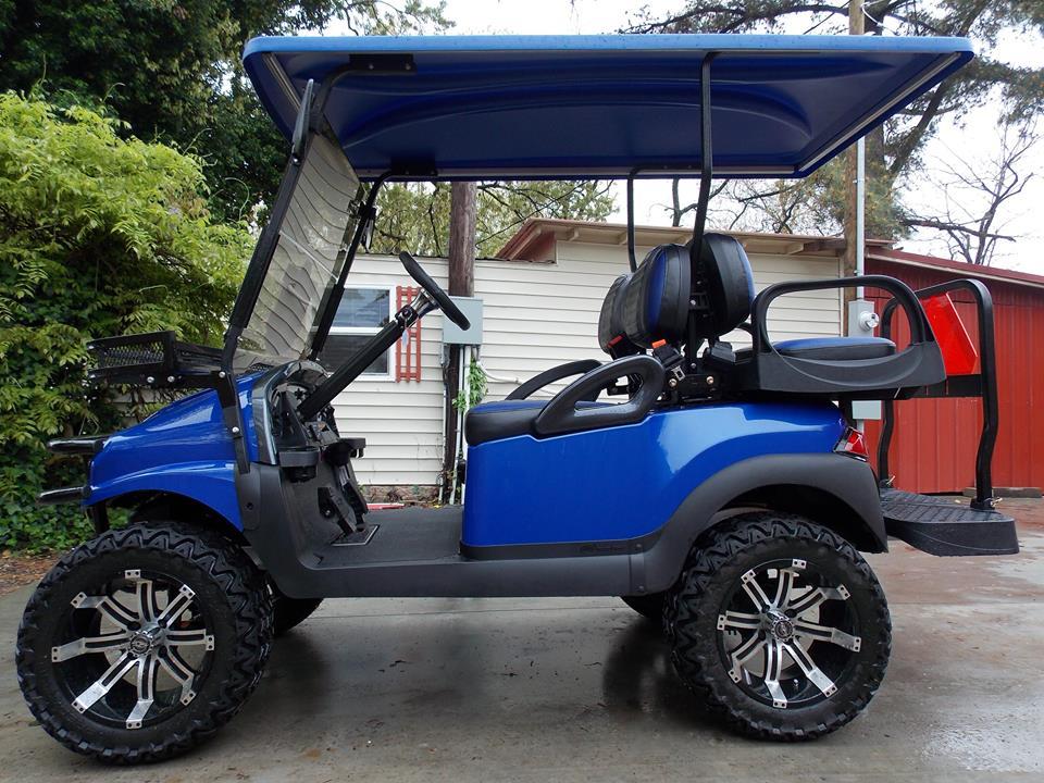 Club Car Golf Carts: Royal Metallic Octane Phantom Club Car Golf Cart