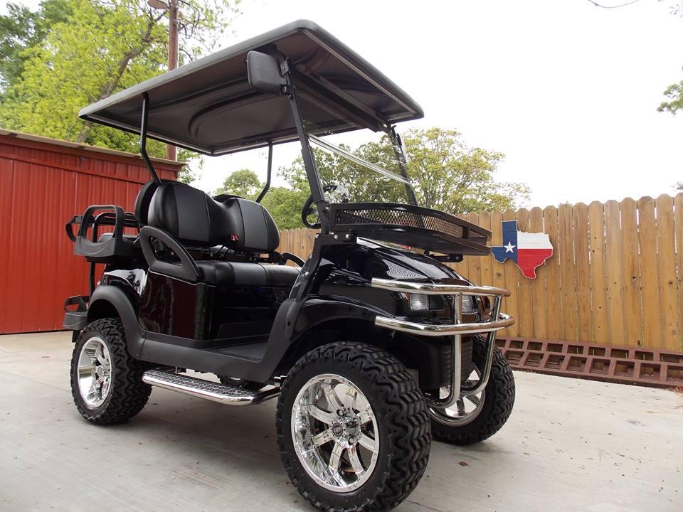 Club Car Golf Carts: Black Chrome Edition Phantom Club Car