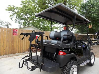 Black Chrome Edition Phantom Club Car Precedent 48v Electric Golf Cart