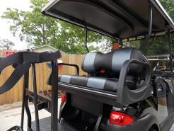 Black Chrome Edition Phantom Club Car Precedent 48v Electric Golf Cart