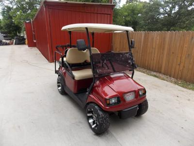 2011 Burgundy Metallic Club Car Precedent Electric 48v Golf Cart