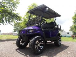 2011 Purple Metallic Phantom Club Car Precedent Electric 48v Golf Cart