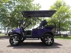 2011 Purple Metallic Phantom Club Car Precedent Electric 48v Golf Cart