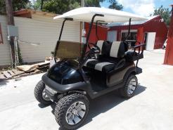 2011 White Tempest Edition Club Car Precedent Electric 48v Golf Cart