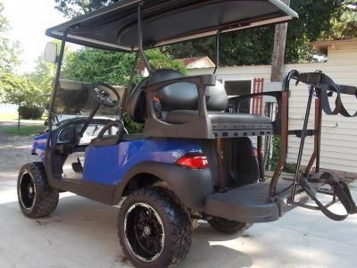 2011 Royal Rocker Edition Phantom Club Car Precedent Electric 48v Golf Cart