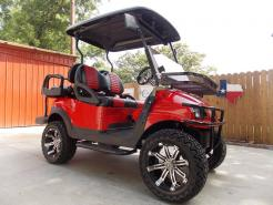 2011 RollNRed Carbon Edition Phantom Club Car Precedent 48v Electric Golf Cart