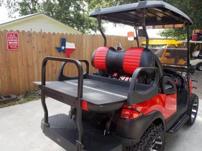 2011 RollNRed Carbon Edition Phantom Club Car Precedent 48v Electric Golf Cart