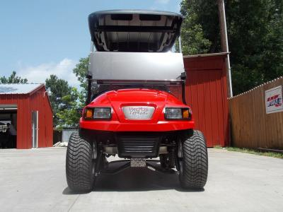 2011 Red Tech Edition Phantom Club Car Precedent 48v Electric Golf Cart