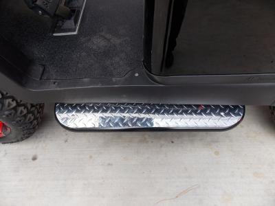 Touch of Red Edition Phantom Club Car Precedent 48v Electric Golf Cart
