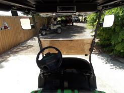Black N Lime Green Rock N Phantom Elite Cruiser 48v Electric Golf Cart