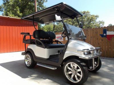 2011 Pearl White Phantom Performance Series Club Car Precedent 48v Electric Golf Cart