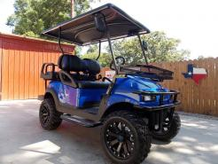 Royal Blue Phantom XT Club Car Precedent 48v Electric Golf Cart