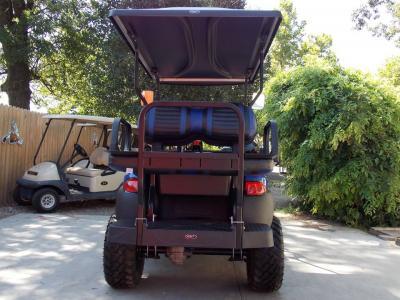 Royal Blue Phantom XT Club Car Precedent 48v Electric Golf Cart