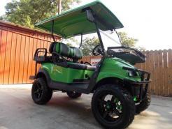 Lime Green Phantom XT Club Car Precedent 48v Electric Golf Cart