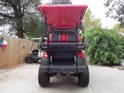 Cherry Red Phantom XT Club Car Precedent 48v Electric Golf Cart