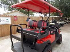 Cherry Red Phantom XT Club Car Precedent 48v Electric Golf Cart