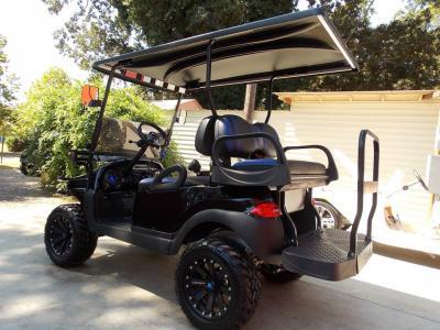 Black & Blue Phantom XT Club Car Precedent 48v Electric Golf Cart