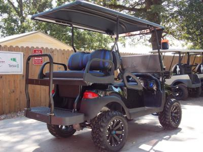 Black & Blue Phantom XT Club Car Precedent 48v Electric Golf Cart