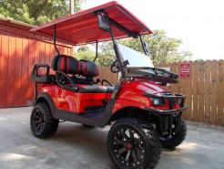 Red Kore Phantom XT Club Car Precedent 48v Electric Golf Cart