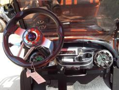 Orange Phantom XT Club Car Precedent 48v Electric Golf Cart