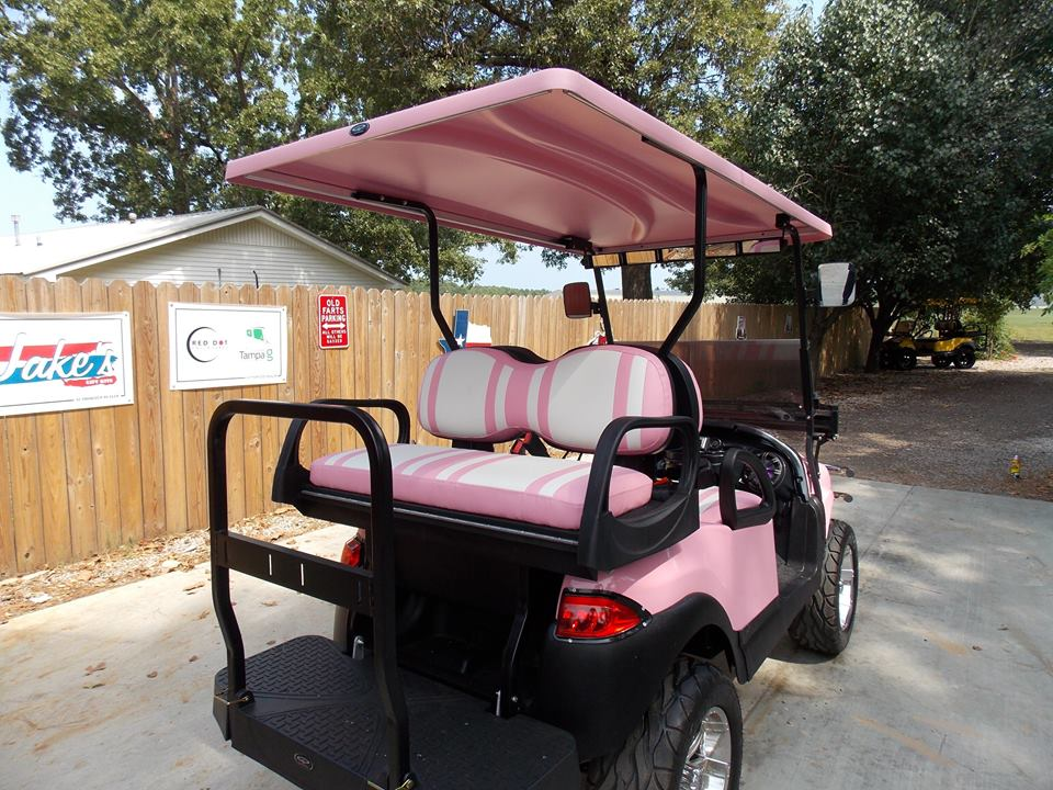 Princess Pink Phantom Xt Golf Cart Golf Cart