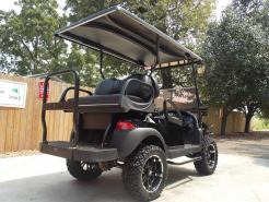 All Black Phantom XT Club Car Precedent 48v Electric Golf Cart