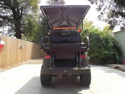 All Black Phantom XT Club Car Precedent 48v Electric Golf Cart