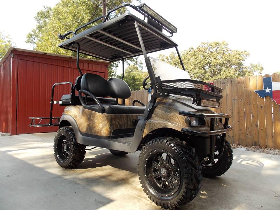 Yamaha Golf Cart Brown