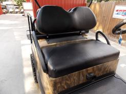 Brown & Black Hardwoods Phantom Hunter Club Car Precedent 48V Electric Lifted Golf