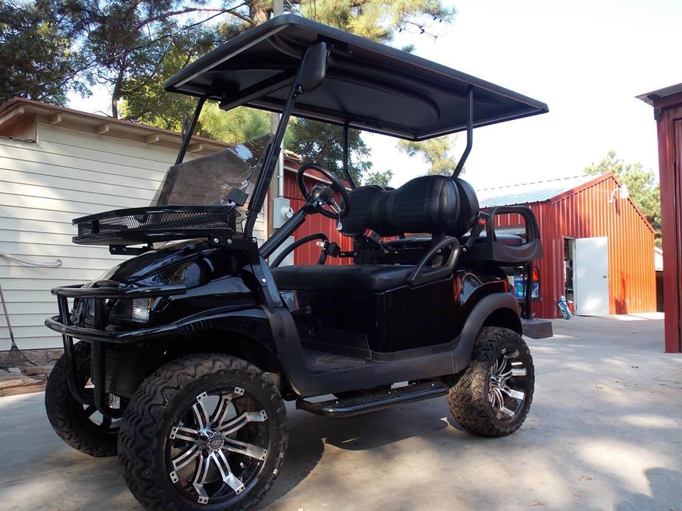 Black Octane Edition Phantom Golf Cart