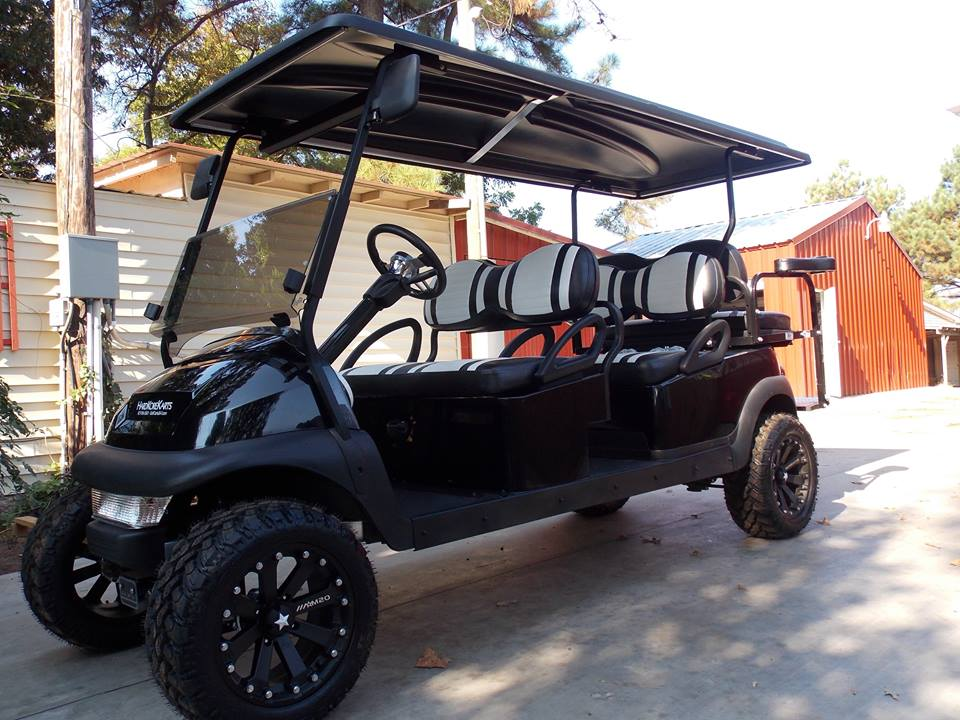 Black Rock Star Edition Phantom Stretch Limo Golf Cart on courtesy cart, stretch jaguar 2014, stretch money, black cart,